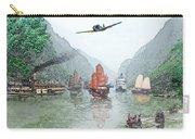 Refugees On The Yangtze Carry-all Pouch
