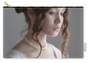 Regency Period Woman Portrait Beautiful Young  Carry-all Pouch