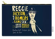 Reggie Jackson New York Yankees Carry-all Pouch
