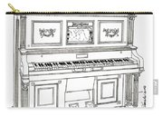 Regina Player Piano Carry-all Pouch
