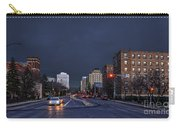 Regina Street At Night Carry-all Pouch