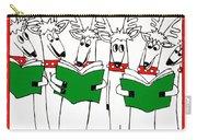 Reindeer Choir Carry-all Pouch