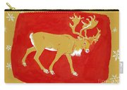 Reindeer Carry-all Pouch by George Adamson