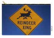 Reindeer Xing Carry-all Pouch