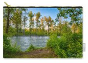 Relax By The Methow Rivers Edge Carry-all Pouch