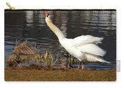 Relaxed Swan Carry-all Pouch