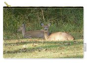 Relaxing In The Sun And Shade Carry-all Pouch