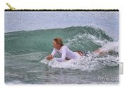 Relaxing In The Surf Carry-all Pouch