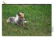 Relaxing Red Fox Carry-all Pouch