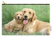 Relaxing Retrievers Carry-all Pouch