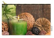 Relaxing Spa Candle Carry-all Pouch