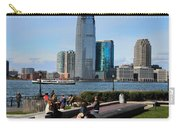 Relaxing Weekend On New York Harbor Carry-all Pouch