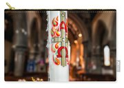 Religious Candle Carry-all Pouch