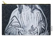 Religious Icons In Spanish Cemetery Carry-all Pouch