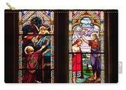 Religious Stained Windows Carry-all Pouch