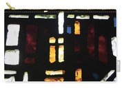 Religious Symbols In Glass Carry-all Pouch