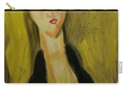 Sophisticated Lady With The Dreamy Eyes Carry-all Pouch