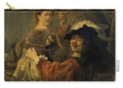 Rembrandt And Saskia In The Parable Of The Prodigal Son Carry-all Pouch