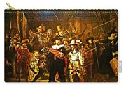 Rembrandt Painting Covered A Wall In Rijksmuseum In Amsterdam-netherlands Carry-all Pouch