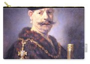 Rembrandt's A Polish Nobleman Carry-all Pouch