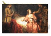 Rembrandt's Joseph Accused By Potiphar's Wife Carry-all Pouch