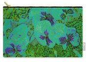 Remembrance Flowers Carry-all Pouch