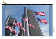 Rencen And Flags Carry-all Pouch