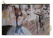 Dance Class By Degas Carry-all Pouch