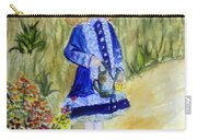 Renoir Girl With Watering Can In Watercolor Carry-all Pouch