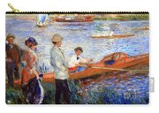 Renoir's Oarsmen At Chatou Carry-all Pouch