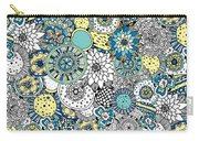 Repeat Print - Floral Burst Carry-all Pouch