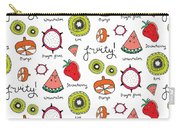 Repeat Print - Fruits Carry-all Pouch