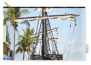 Replica Of The Christopher Columbus Ship Pinta Carry-all Pouch