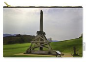 Replica Of Wooden Trebuchet And The Ruins Of The Urquhart Castle Carry-all Pouch