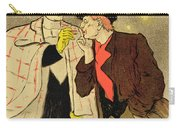 Reproduction Of A Poster Advertising Mothu And Doria In Impressionist Scenes Carry-all Pouch
