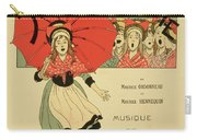 Reproduction Of A Poster Advertising The Operetta La Petite Poucette Carry-all Pouch