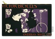 Reproduction Of A Poster Advertising Victor Bicycles Carry-all Pouch