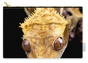 Reptile Close Up On Black Carry-all Pouch