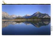 Sunrise Kananaskis Upper Lake Reflected - Panorama - Alberta Carry-all Pouch