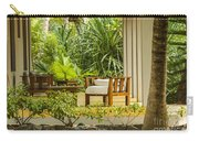 Resort Bungalow Near The Beach Carry-all Pouch