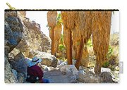 Rest Stop In Andreas Canyon Trail In Indian Canyons-ca Carry-all Pouch