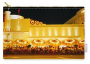 Restaurant Lit Up At Night, Miami Carry-all Pouch