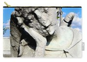 Resting Angel Carry-all Pouch