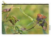 Resting Butterfly Carry-all Pouch