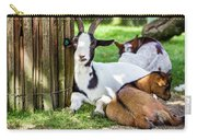 Resting Goats Carry-all Pouch
