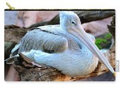 Resting Great White Pelican Carry-all Pouch