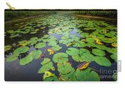 Resting Lilly Pads Carry-all Pouch