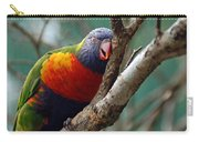 Resting Lorikeet Carry-all Pouch