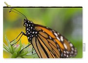 Resting Monarch Butterfly Carry-all Pouch