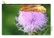 Resting On A Thistle Carry-all Pouch